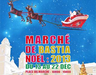Le marché de Noël s'installe à Bastia