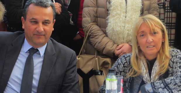 François Tatti et Emmanuelle de Gentili.