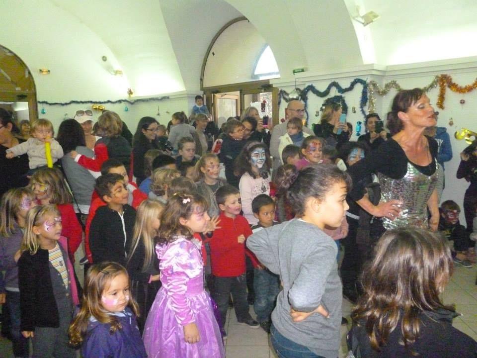 Le Père Noël a répondu à l'invitation de Cal'in Festa à Calenzana