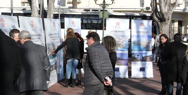 """Bastia : C'est parti pour la """"voie douce"""" !"""