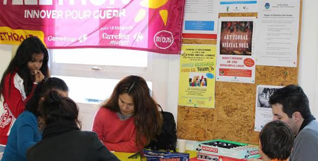 Corte : Après-midi chaleureux au centre social pour le Téléthon 2013