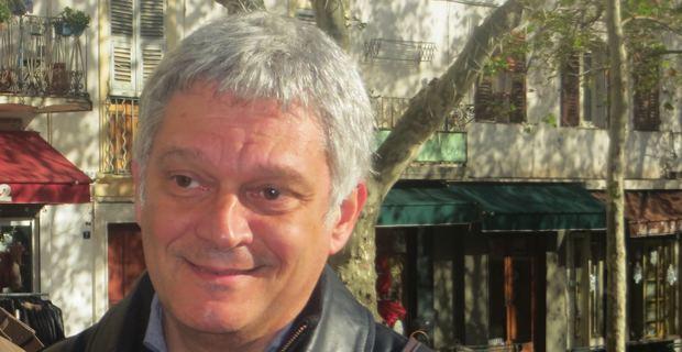Dr Eric Simoni, tête de liste d'Un'alba nova per Bastia, candidat de Corsica Libera à l'élection municipale de mars 2014 à Bastia.