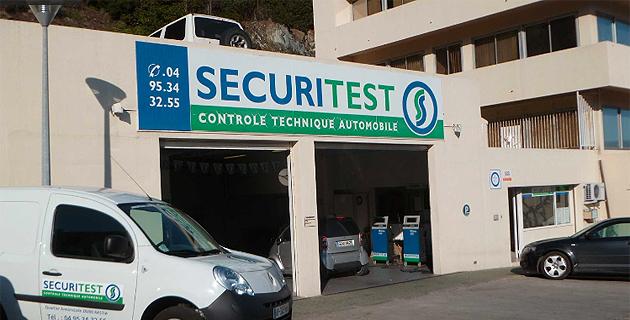 Bastia : Le label sécuritest pour Annonciade contrôle automobile