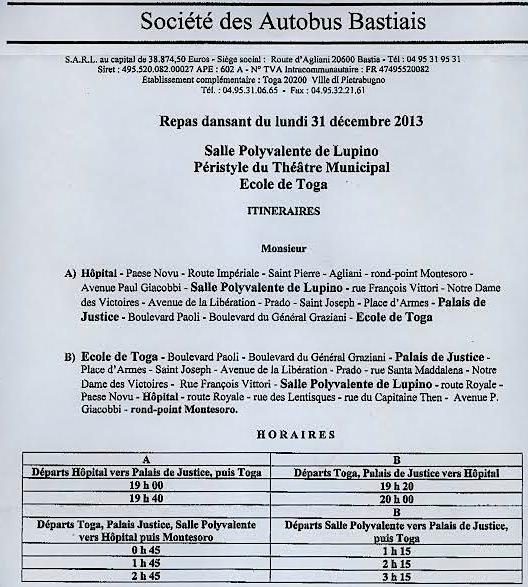Réveillon du 31 décembre 3 lieux pour faire la fête à Bastia
