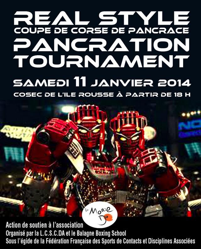 1re Coupe de Corse de Pancrace et combats de K1 Rules samedi à L'Ile-Rousse