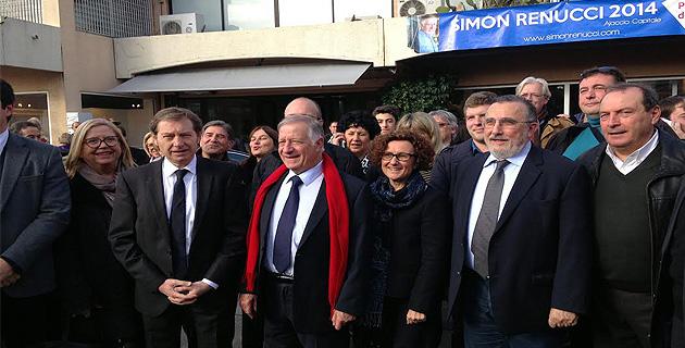 Ajacccio : Simon Renucci a ouvert sa permanence de campagne