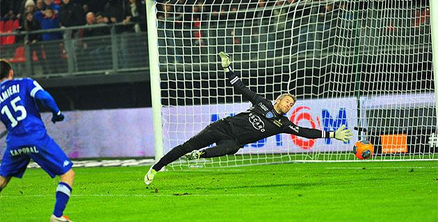 Landreau et le Sporting : une soirée difficile à Valenciennes
