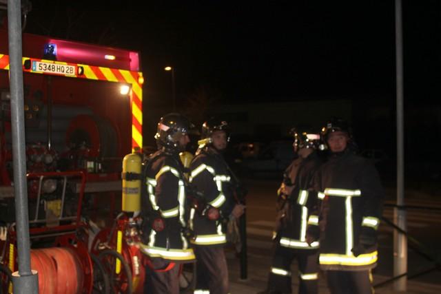 Alerte incendie à l'aéroport de Calvi - Balagne
