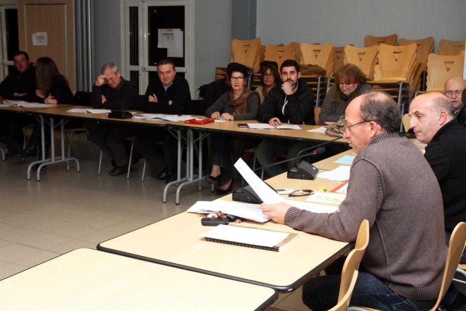 La motion a été adoptée à l'unanimité par les conseillers communautaires présents. (Photo Stéphane Gamant)