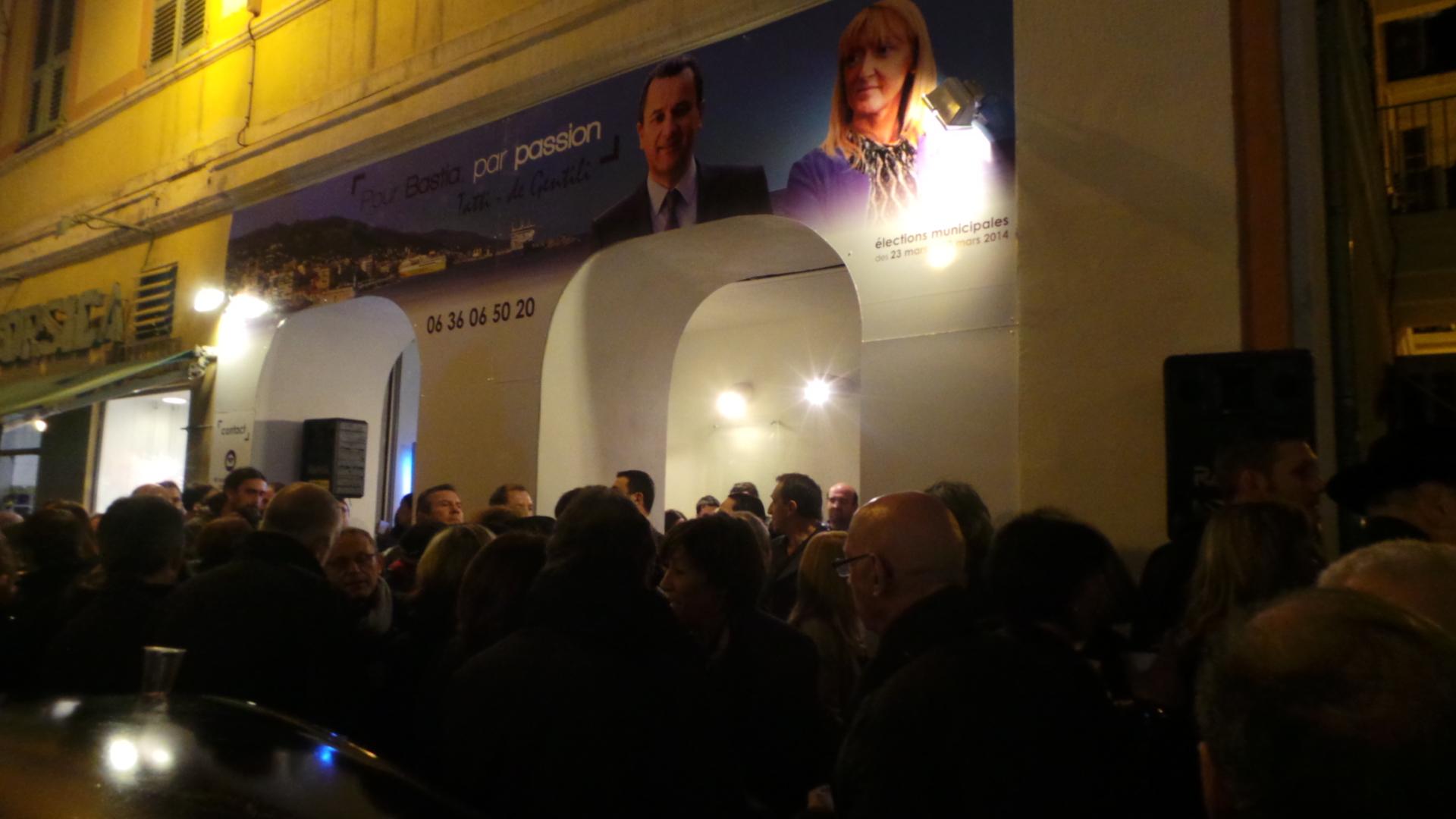 Bastia : La permanence de François Tatti et Emmanuelle de Gentili ouverte