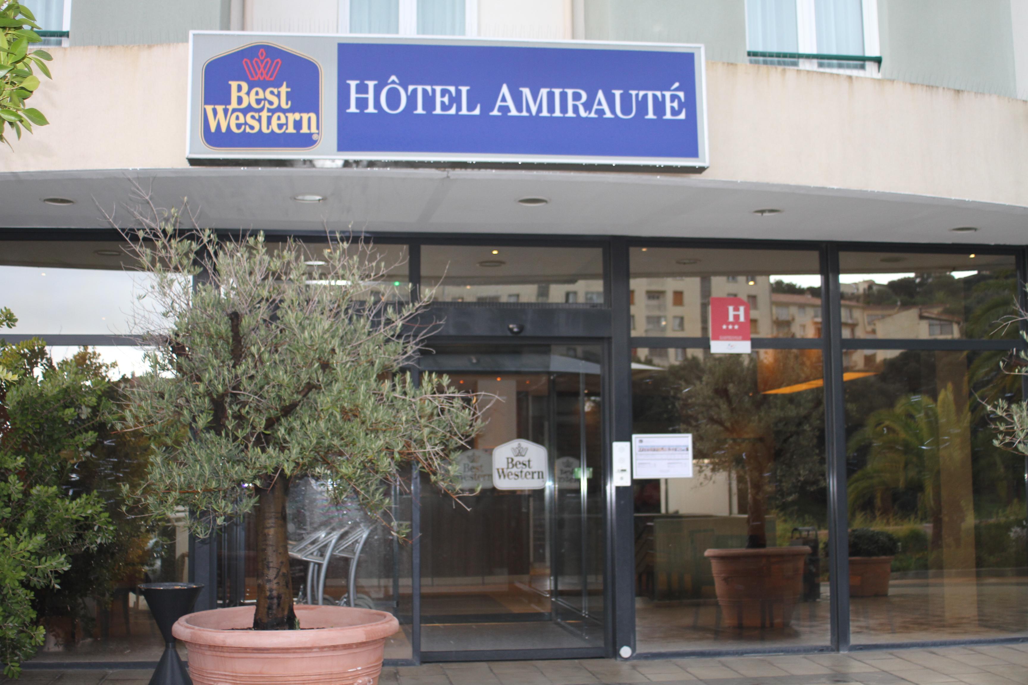 L'hôtel Best Western d'Ajaccio