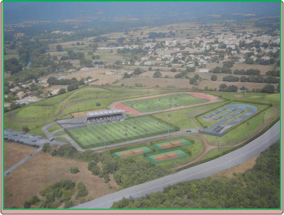 L'acquisition par la commune de foncier, route de la mer, devrait permettre au projet de complexe sportif de voir le jour. (DR)