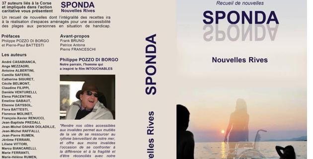 Sponda : 36 auteurs pour un livre collectif en vente au profit du handicap