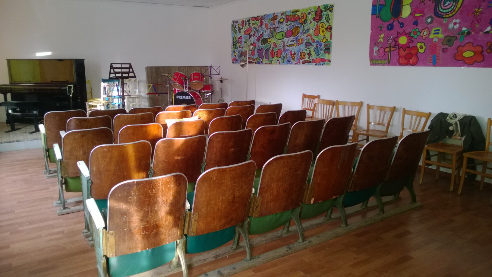 Première soirée « Veghj'Anima »  au centre culturel Anima