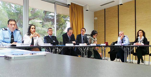 Alain Rousseau, préfet de Haute-Corse, et Dominique Alzeari, procureur de la République à Bastia, ont également présenté les chiffres de la délinquance en Haute-Corse