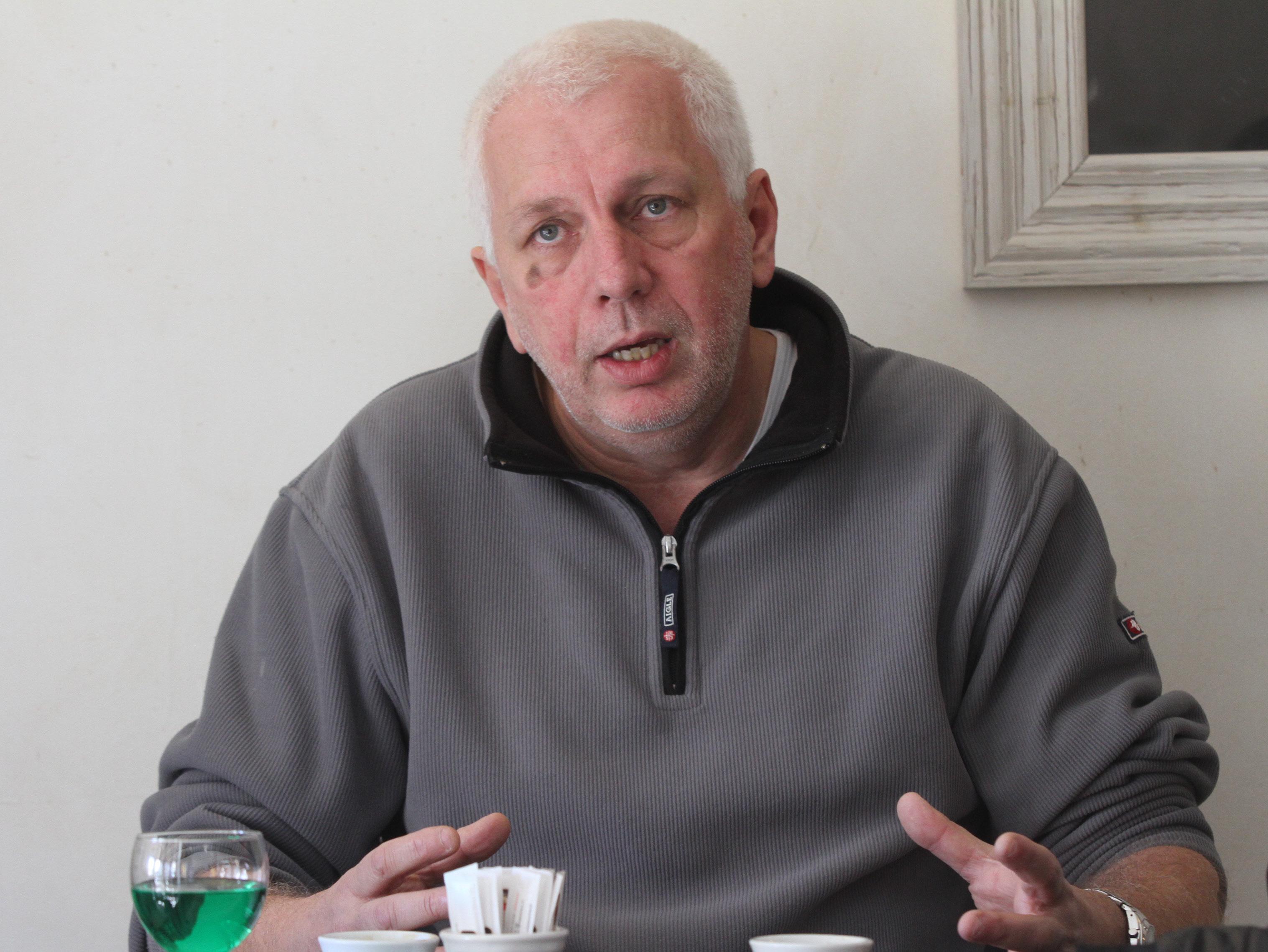 Xavier Luciani reçoit le soutien d'Inseme per a Ghisunaccia. (Photo Stéphane Gamant).