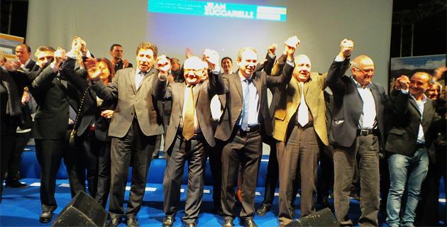 Bastia : Jean Zuccarelli a présenté sa liste