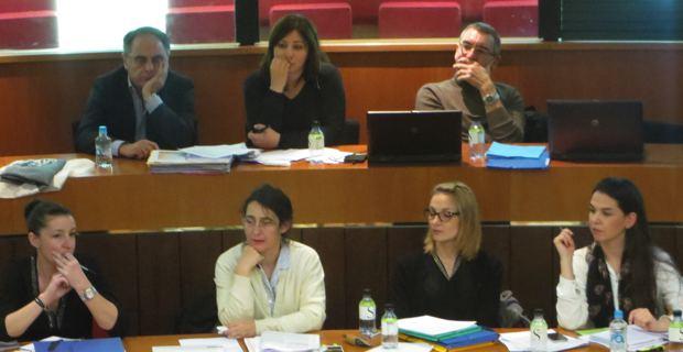 L'équipe de Maria Guidicelli qui a préparé le PADDUC.