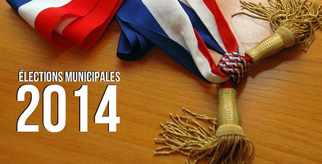 Les déclarations de candidatures pour les élections municipales et communautaires des 23 et 30 mars 2014