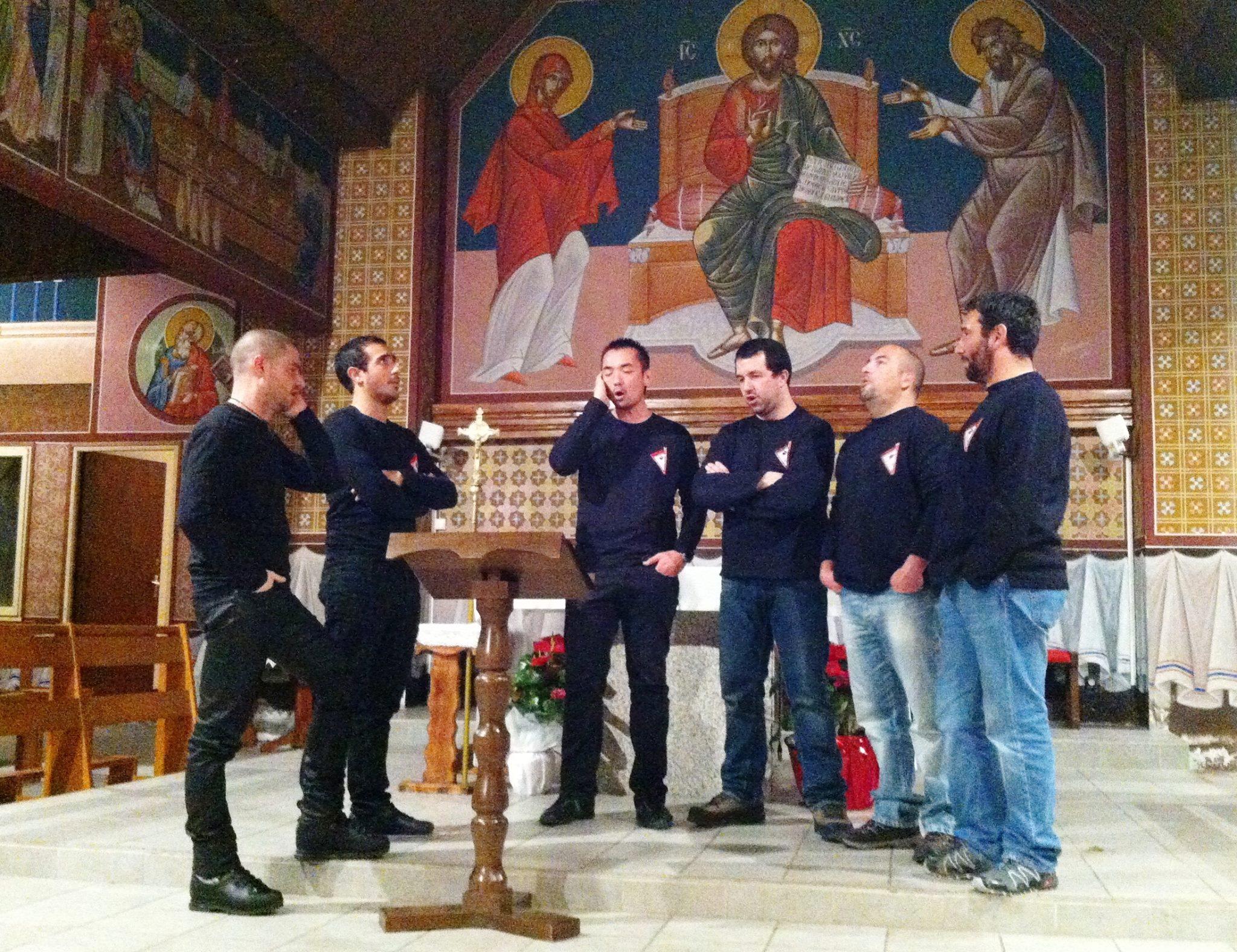 Madricale hier soir en l'église San Michele de Ghisunaccia.