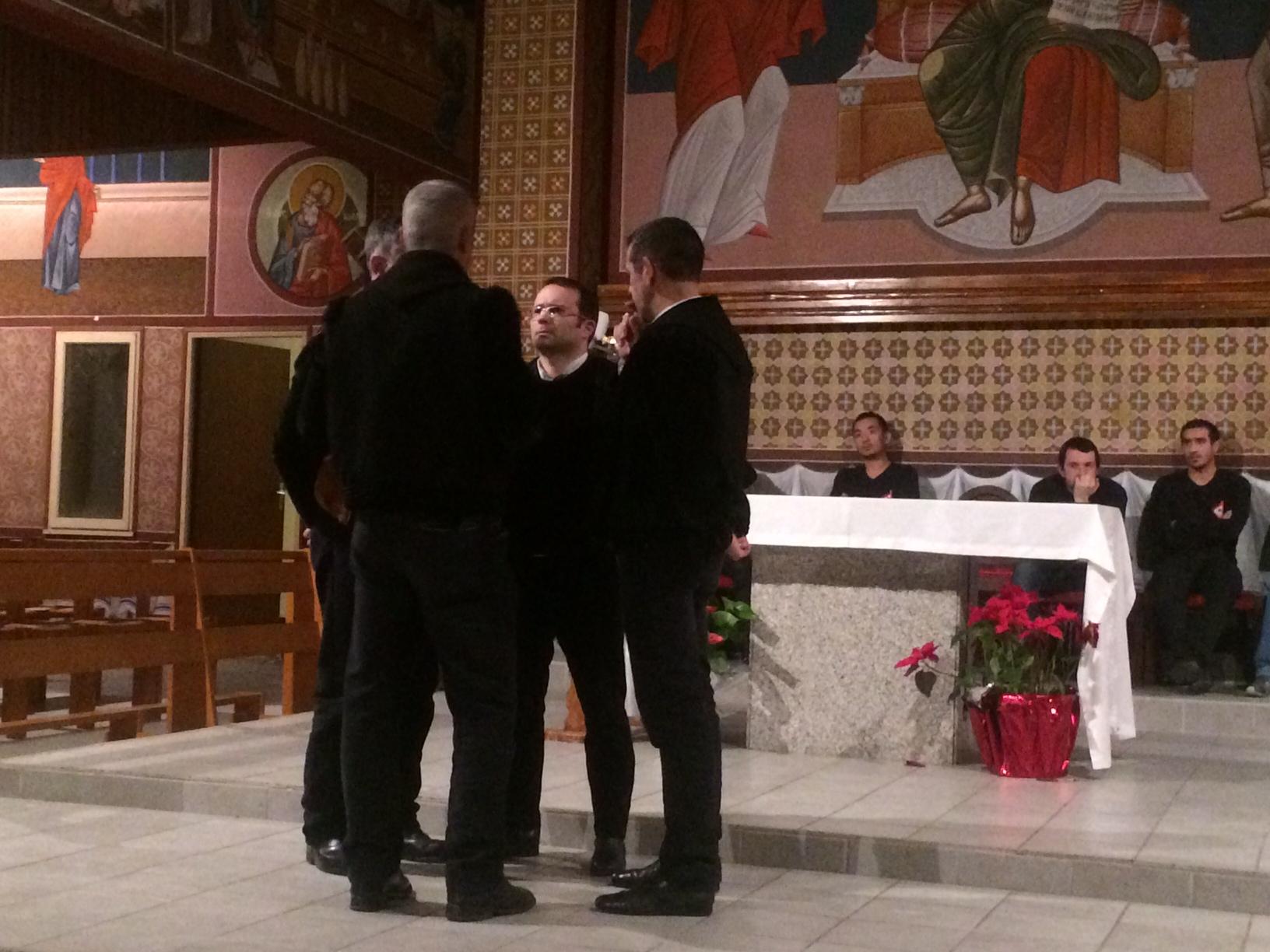 Cuncordu Lussurzesu un quatuor de magnifiques voix sardes. (Photos SG).