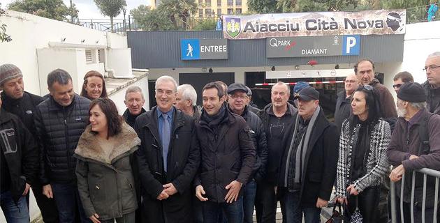 Parking du Square Campinchi : « Aiacciu Cità Nova » évoque  les risques financiers