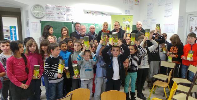 Concours de collecte de piles : L'école de Vescovato lauréate