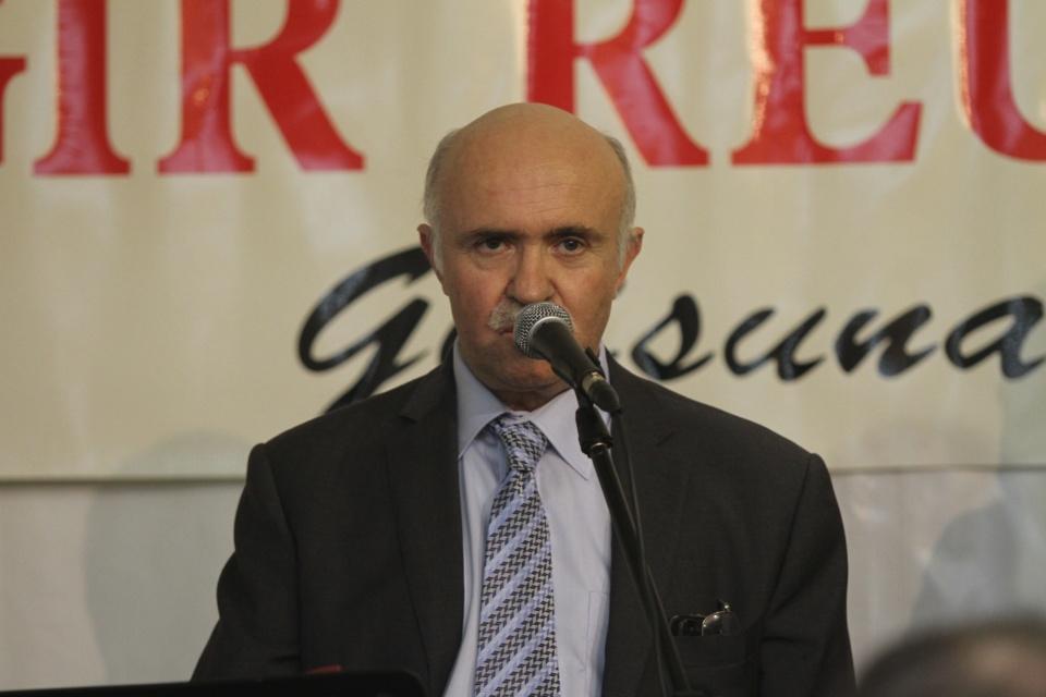 """""""Faites campagne avec nous, rejoignez nous"""" a déclaré Francis Giudici lors de son discours. (Photo Stéphane Gamant)."""