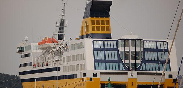 La Corsica Ferries a transporté 2,5 millions de passagers en 2013