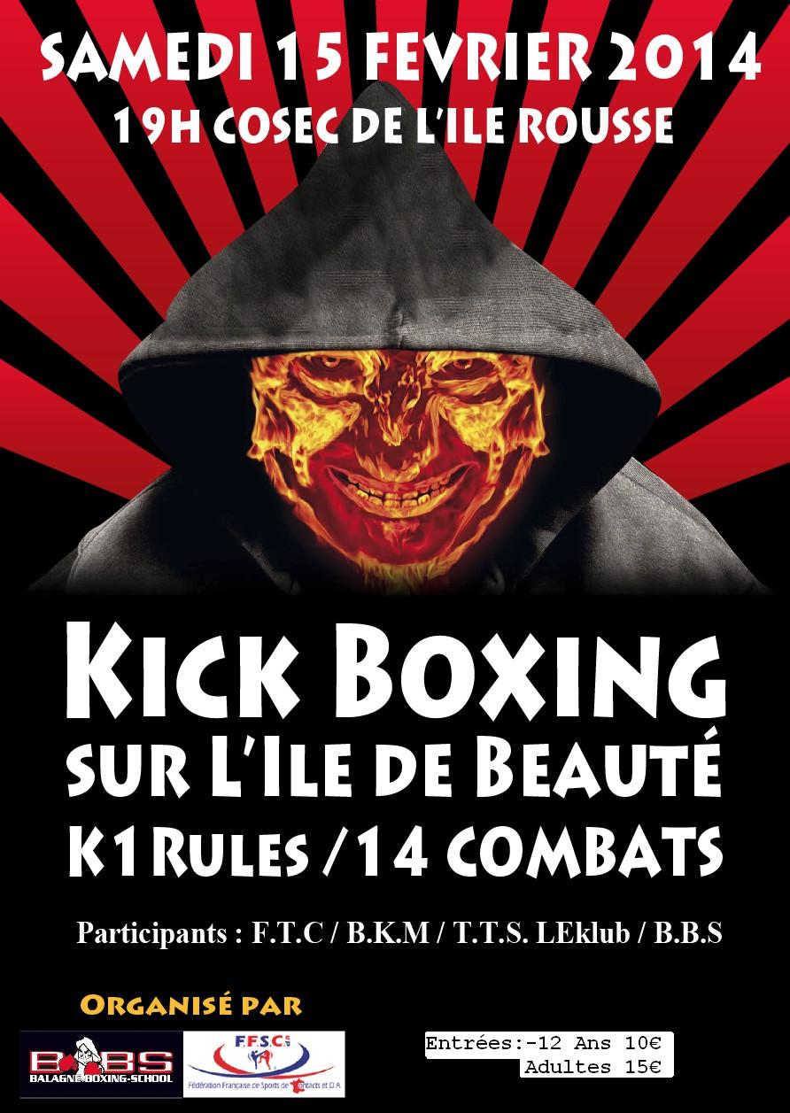 L'Ile-Rousse : Soirée de Kick Boxing K1 samedi