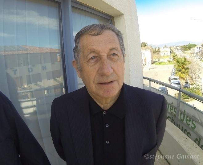 Paul Trojani président de la Chambre de Commerce et d'Industrie Territoriale de Bastia et de la Haute Corse. (Photo SG)