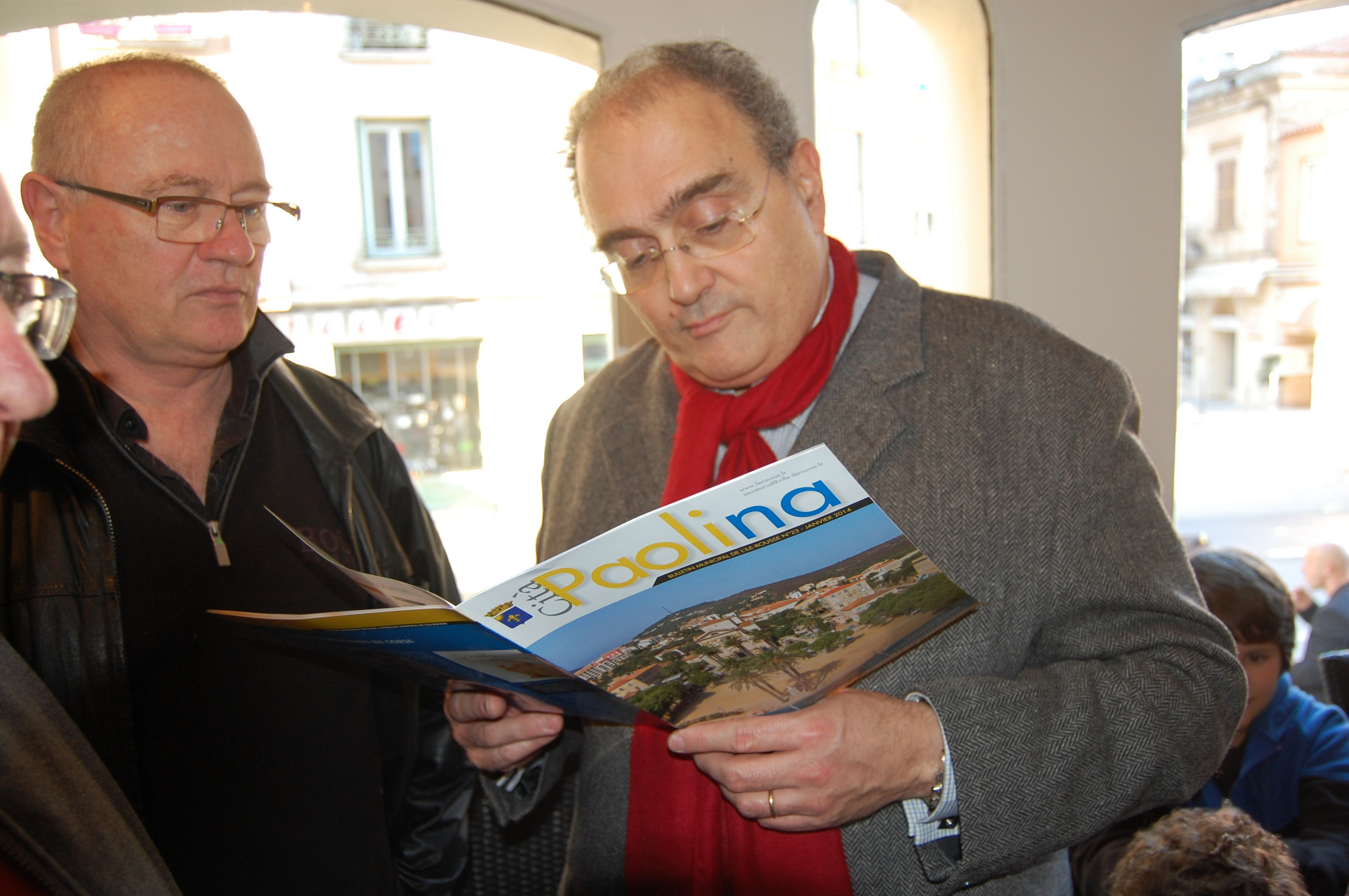 Paul Giacobbi à L'Ile-Rousse pour l'ouverture de la permanence de Jean-Jo Allegrini-Simonetti