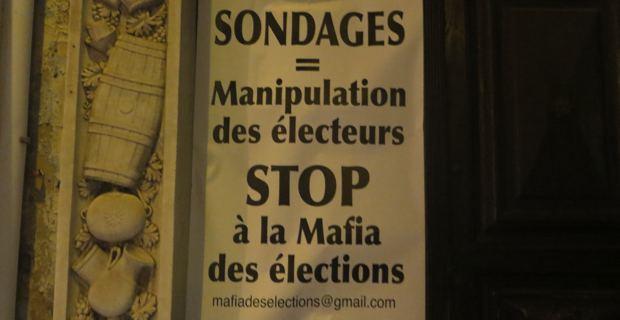 Elections municipales : Affiches anti-sondage placardées dans les rues de Bastia