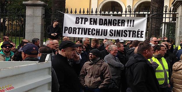 PLU annulé : Les professionnels du BTP de Porto-Vecchio craignent le pire