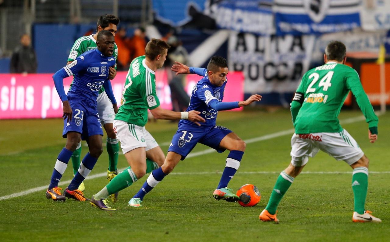 Le Sporting impuissant face à Saint Etienne