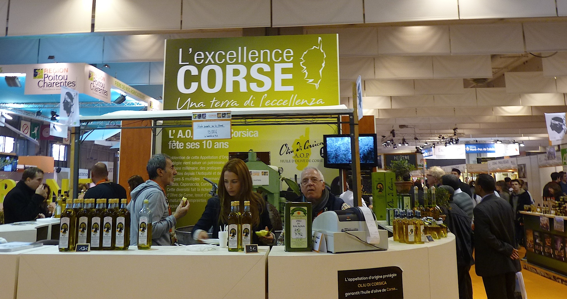 La corse en force au salon de l 39 agriculture for Porte v salon de l agriculture
