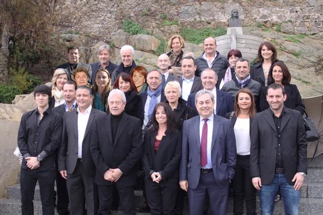"""Présentation de la liste """"Unis pour Calvi"""" conduite par Ange Santini"""