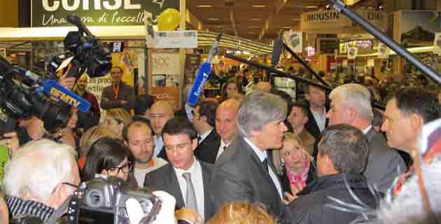 Salon de l'agriculture : Deux ministres sur l'espace de la Corse