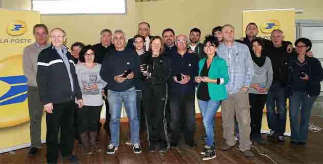 Avec le terminal Facteo les 23 facteurs du centre de Borgo 100% connectés