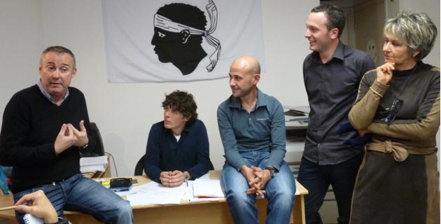 Jean Pierre Antonelli a livré son analyse du bilan et du programme de la mandature sortante. (Photo SG).