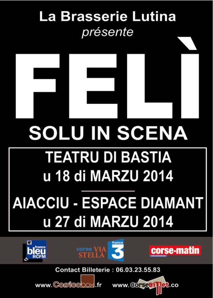 Feli fête ses 25 ans de carrière, seul en scène, en deux concerts exceptionnels