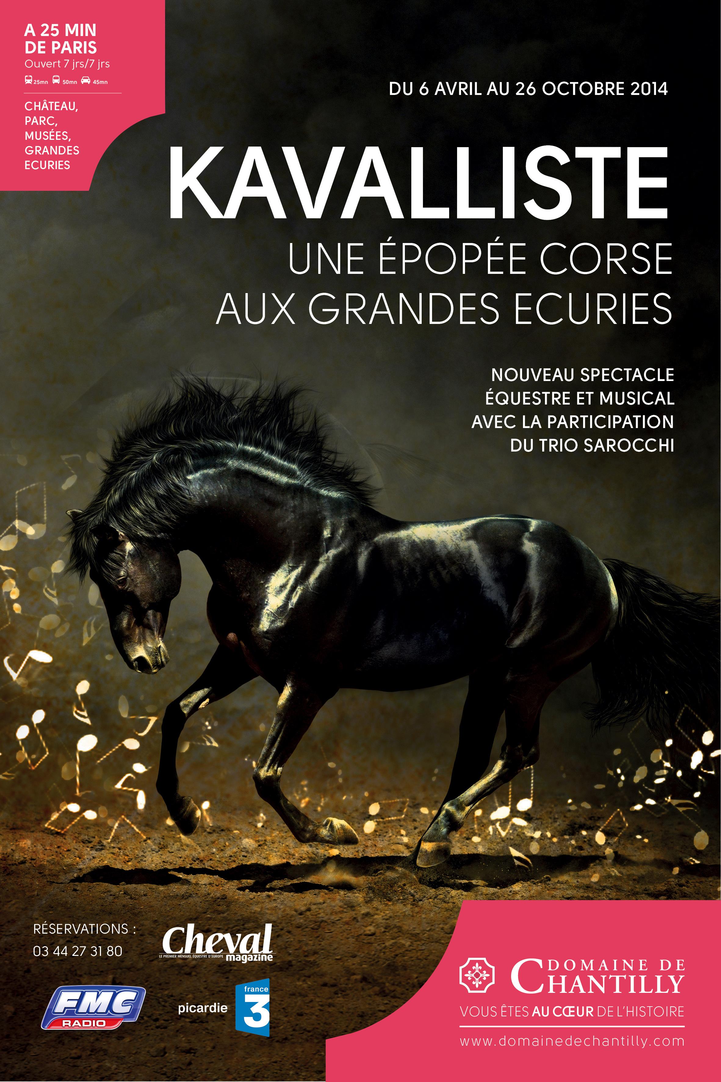 """""""Kavalliste"""": Rencontre de l'art équestre et de l'art polyphonique corse sous le dôme des Grandes Écuries"""