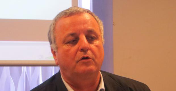 François Alfonsi, député européen, candidat à l'élection européenne du 25 mai prochain.