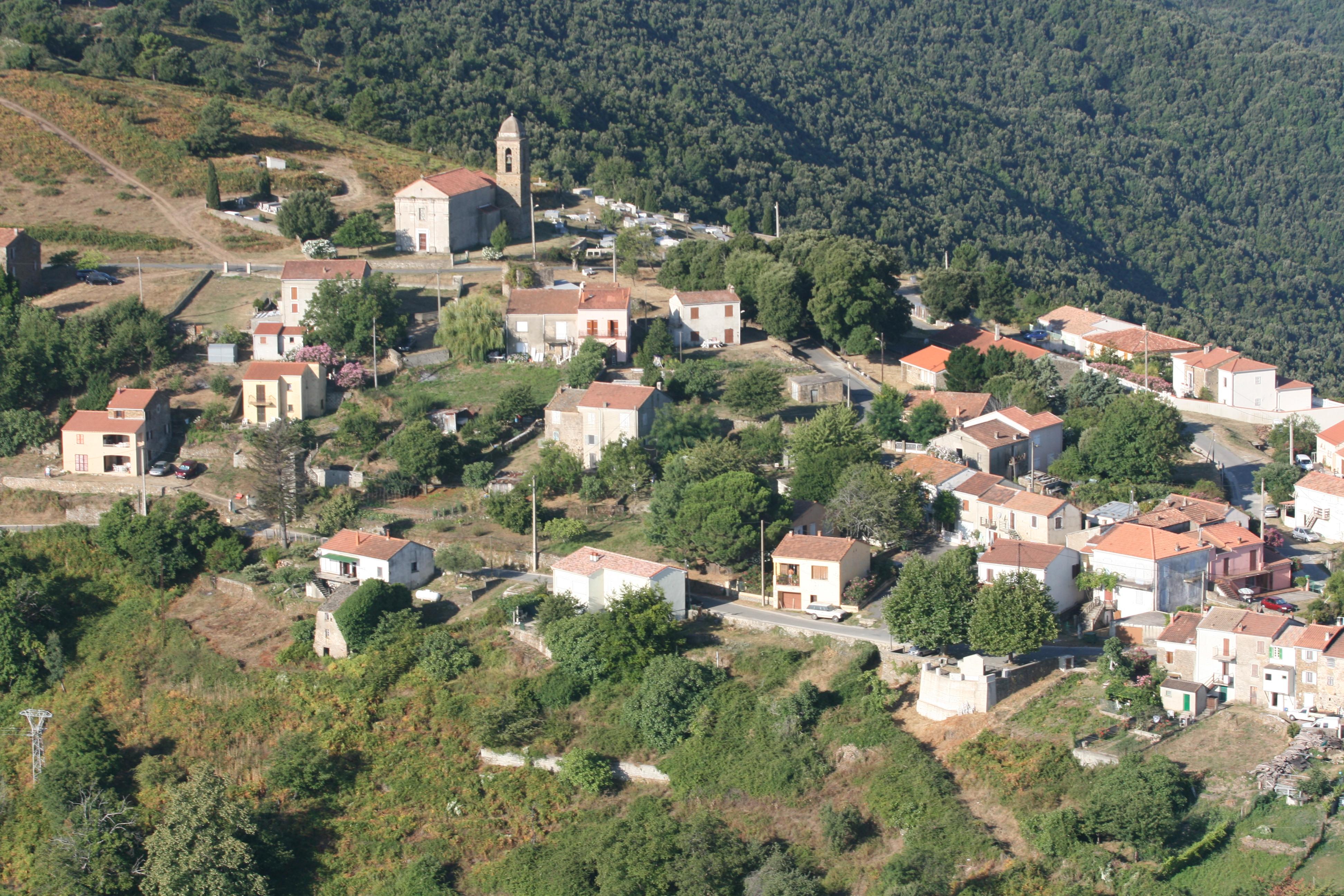 Le village de Serra di Fium'Orbu