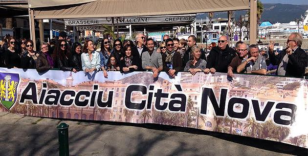Aiacciu Cità Nova : Le comité de soutien fête les siens