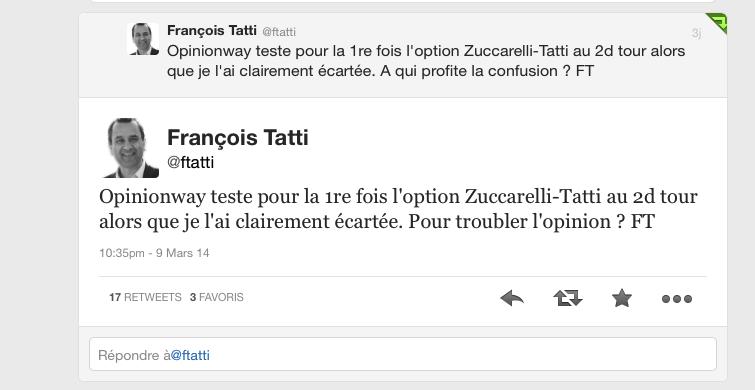 Emmanuelle De Gentili sur Twitter : « Pas de replâtrage ! Pas de discussions ! »