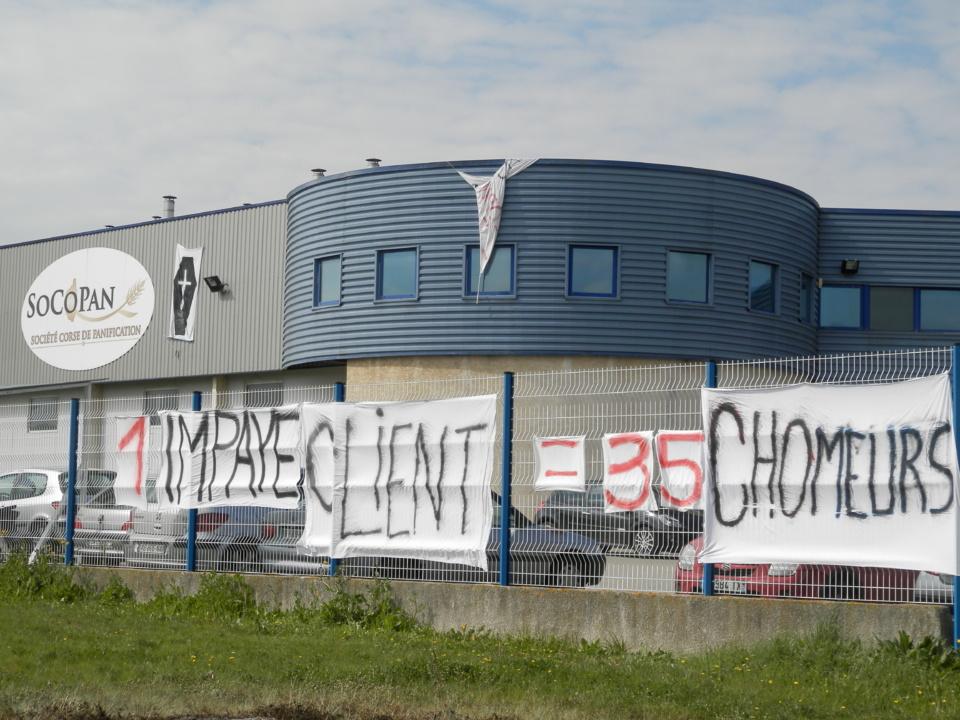 Socopan : Une opération escargot pour tenter de sauver 35 emplois menacés sur Ajaccio