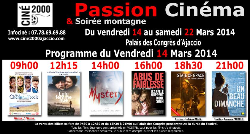 """Ajaccio : """"Passion Cinéma"""" débute au palais des congrès"""