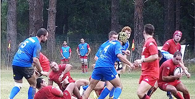 Bastia XV n'a pas fait le poids à Aubagne (40-3)
