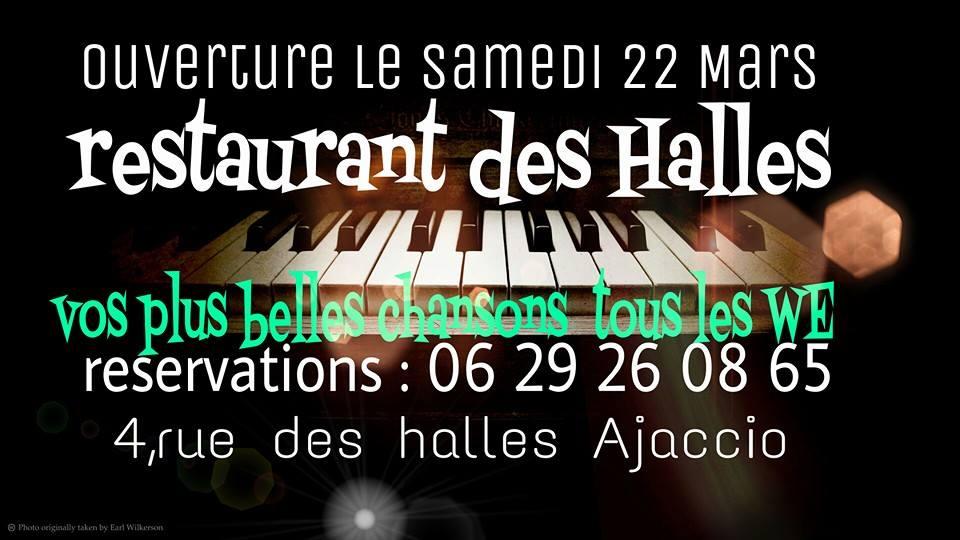 """Ajaccio : Réouverture du """"Restaurant des Halles"""""""